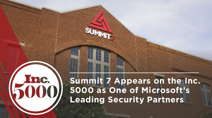 Summit 7 makes Inc 5000 for the sixth time in 2021